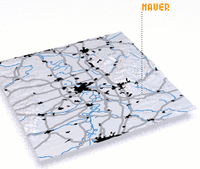 3d view of Mauer