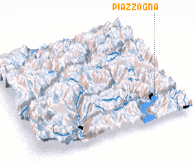 3d view of Piazzogna