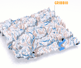 3d view of Gribbio