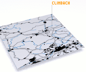3d view of Climbach