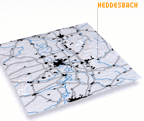 3d view of Heddesbach