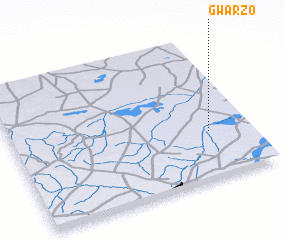 3d view of Gwarzo