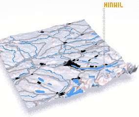 3d view of Hinwil