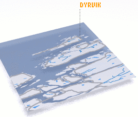 3d view of Dyrvik