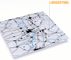 3d view of Langenthal