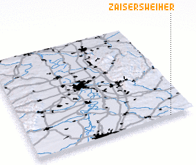 3d view of Zaisersweiher