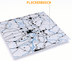 3d view of Flockenbusch