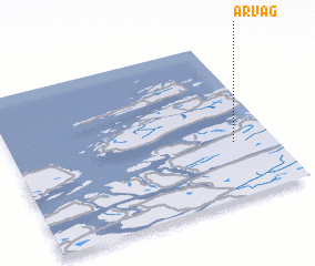 3d view of Årvåg