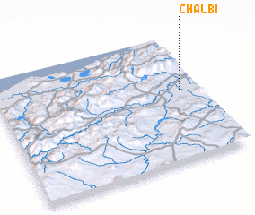 3d view of Chalbi