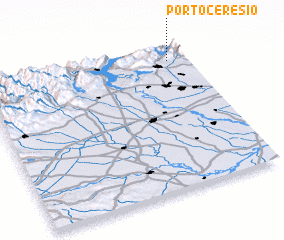 3d view of Porto Ceresio