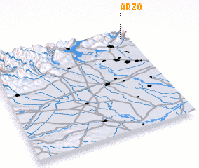 3d view of Arzo