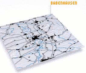 3d view of Babenhausen