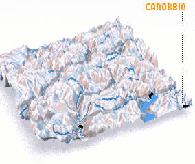 3d view of Canobbio