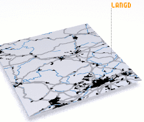 3d view of Langd