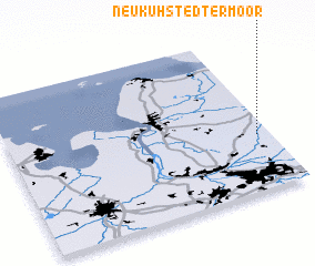 3d view of Neu Kuhstedtermoor