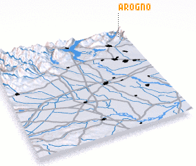 3d view of Arogno
