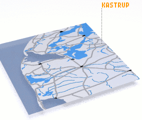 3d view of Kåstrup