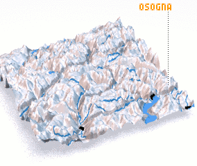 3d view of Osogna