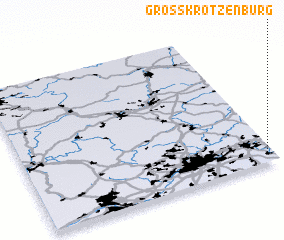 3d view of Großkrotzenburg