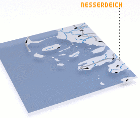 3d view of Nesserdeich