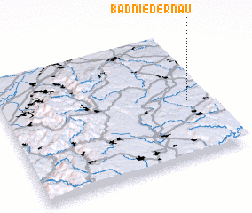 3d view of Bad Niedernau