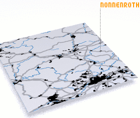 3d view of Nonnenroth