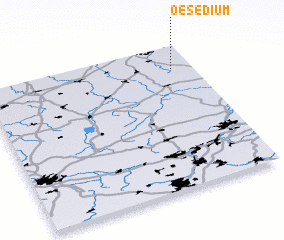 3d view of Oesedium