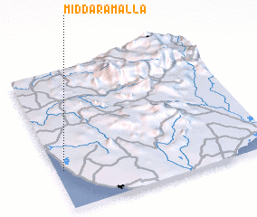 3d view of Middaramalla