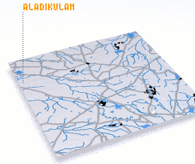 3d view of Aladikulam
