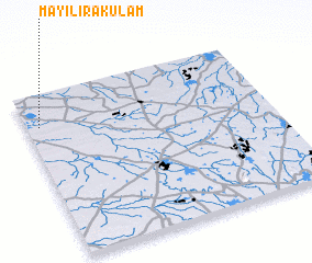 3d view of Mayilirakulam