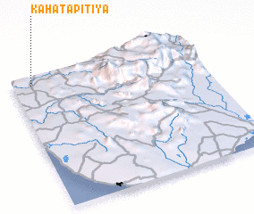 3d view of Kahatapitiya