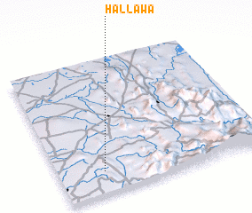 3d view of Hallawa