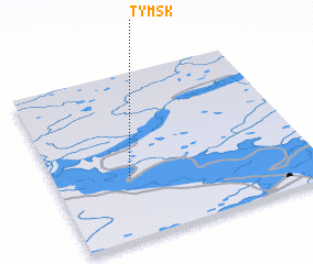 3d view of Tymsk