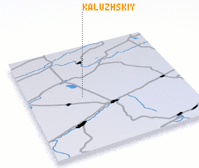 3d view of Kaluzhskiy