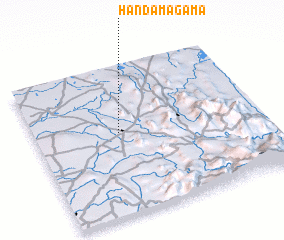 3d view of Handamagama