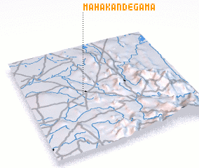 3d view of Mahakandegama
