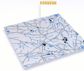 3d view of Konwewa