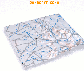 3d view of Pambadenigama