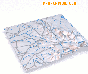 3d view of Pahala Pidivilla