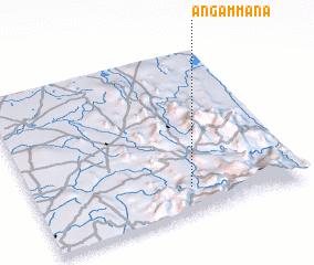 3d view of Angammana