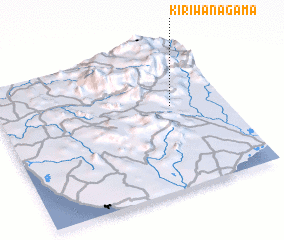 3d view of Kiriwanagama