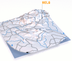 3d view of Hela