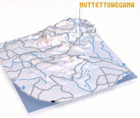3d view of Muttettuwegama