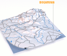 3d view of Bogamuwa