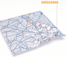 3d view of Kandegama