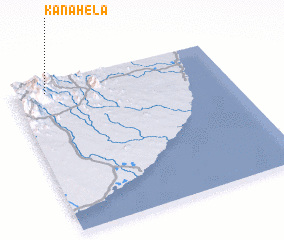 3d view of Kanahela
