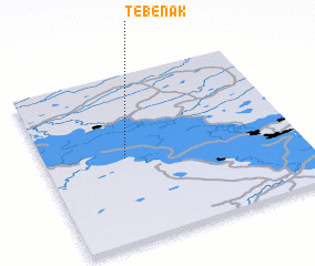 3d view of Tebenak