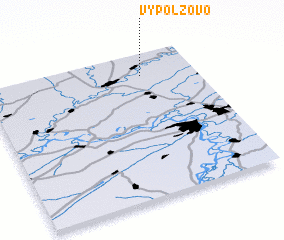 3d view of Vypolzovo