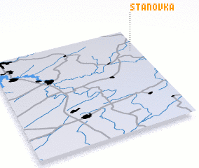 3d view of Stanovka