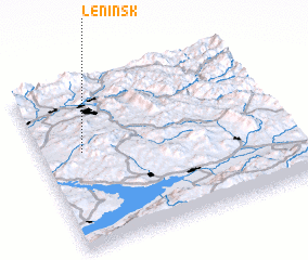 Leninsk Kazakhstan Map Nonanet - Leninsk map